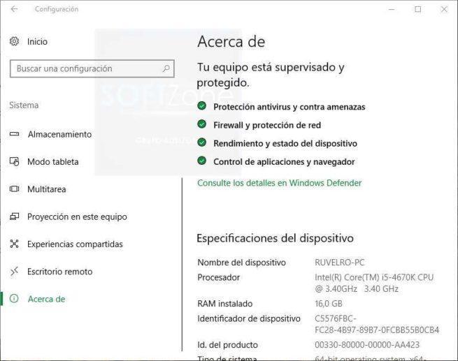 Acerca de PC Windows 10 Clásico
