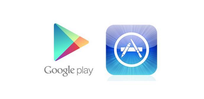 Tiendas Android iOS