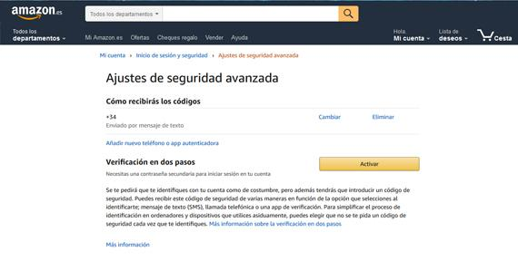 Amazon seguridad