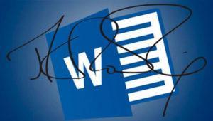 Cómo añadir una firma digital a un documento de Word