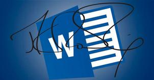 firma digital en word