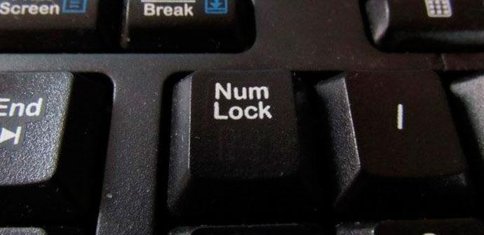 tecla bloqueo numérico
