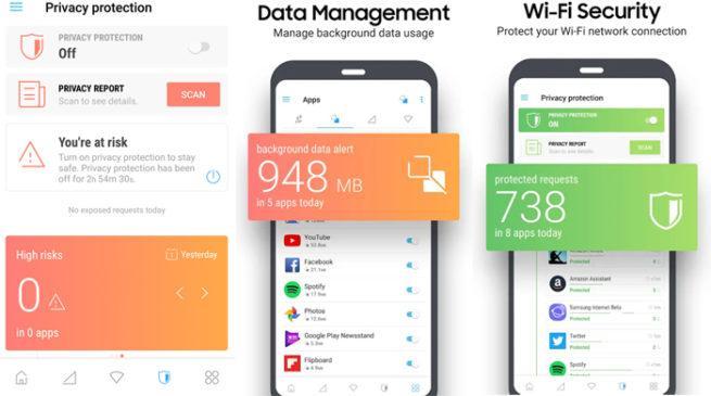 Samsung Max privacidad