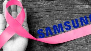 Samsung donará 100.00 euros para la lucha contra el cáncer de mama
