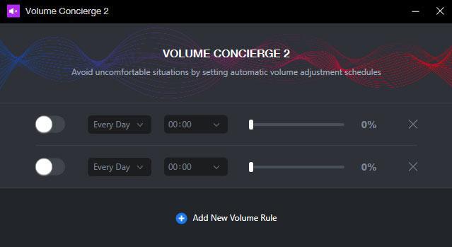 controlar el volumen