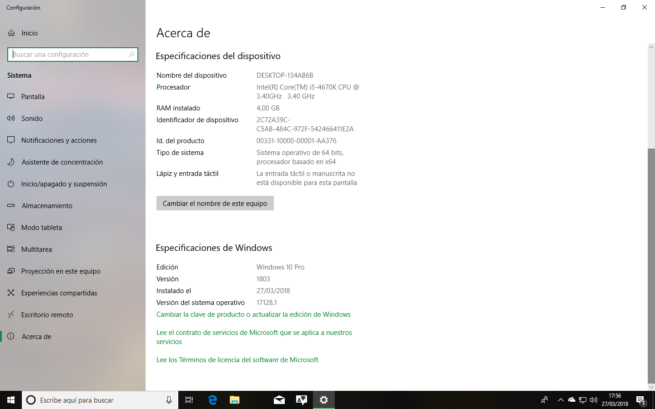 Acerca de Windows 10 Spring Creators Update RTM