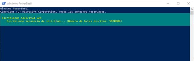 Descargar archivo PowerShell Windows 10