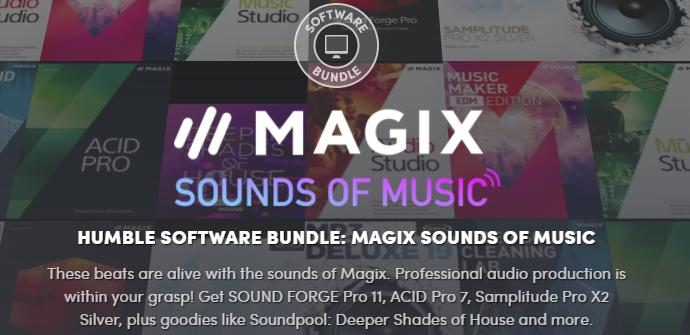 Humble Software Bundle Magix Sounds of Music