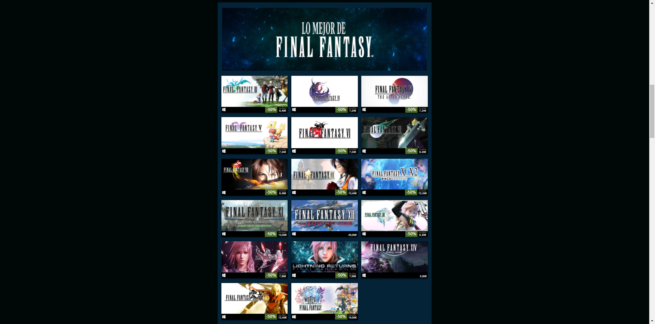 Ofertas Square Enix Final Fantasy