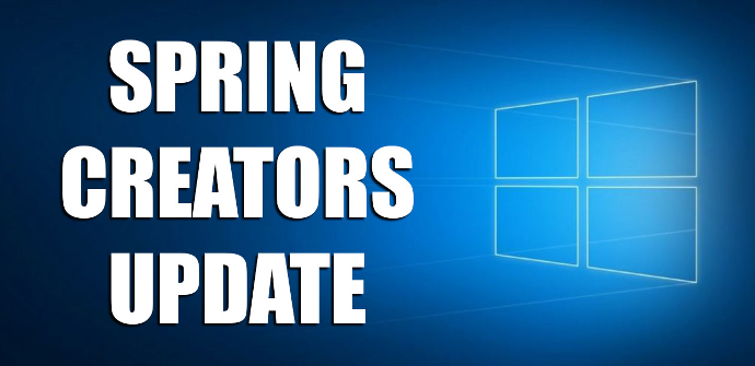 Spring Creators Update Windows 10