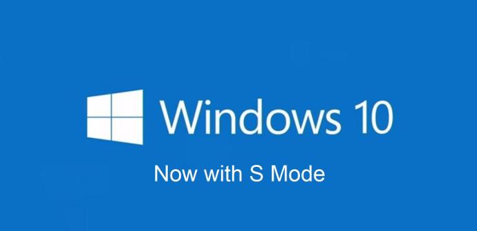 Windows 10 con Modo S