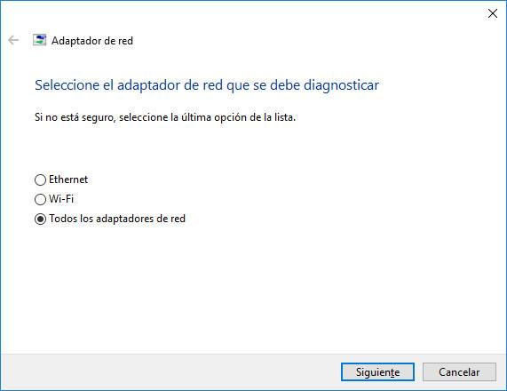 solucionar problemas en Windows