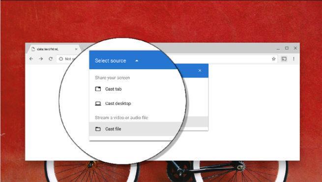 Chromecast Chrome