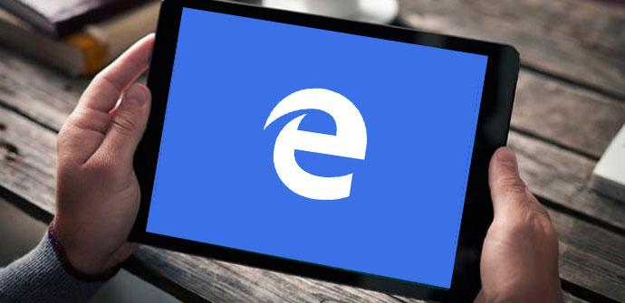 Microsoft edge para tablets y ipad