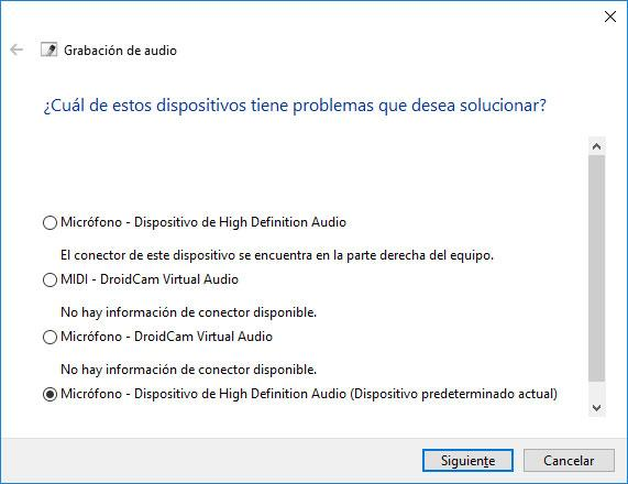 solucionar problemas en windows 10