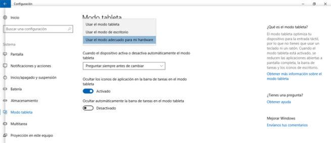 Tableta Windows 10