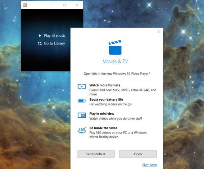 Windows Media Player Windows 10