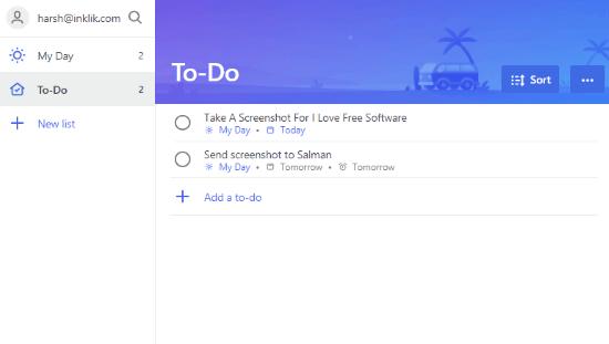 crear listas de tareas