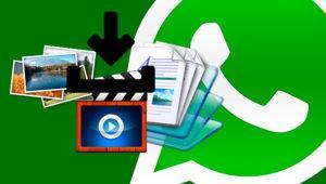 Cómo desactivar la descarga automática de fotos, vídeos y documentos en WhatsApp
