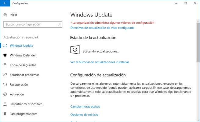 mantenimiento en windows 10