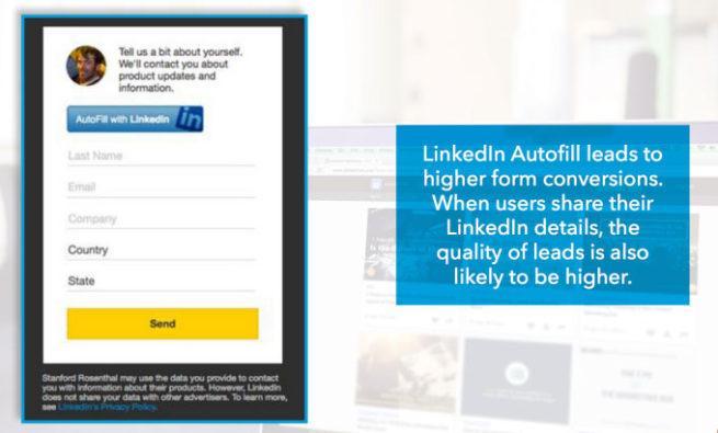 fallo en LinkedIn