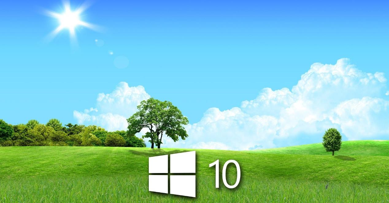Campo y primavera Windows 10 Spring Creators Update
