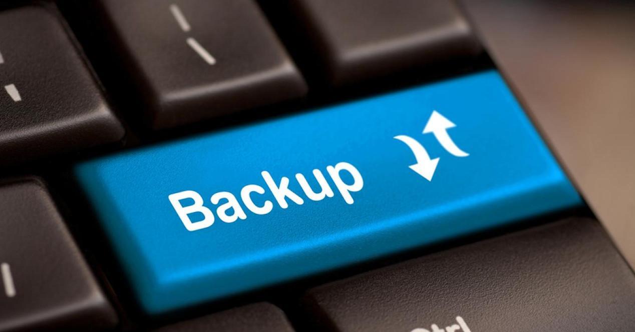 Crear copia de seguridad