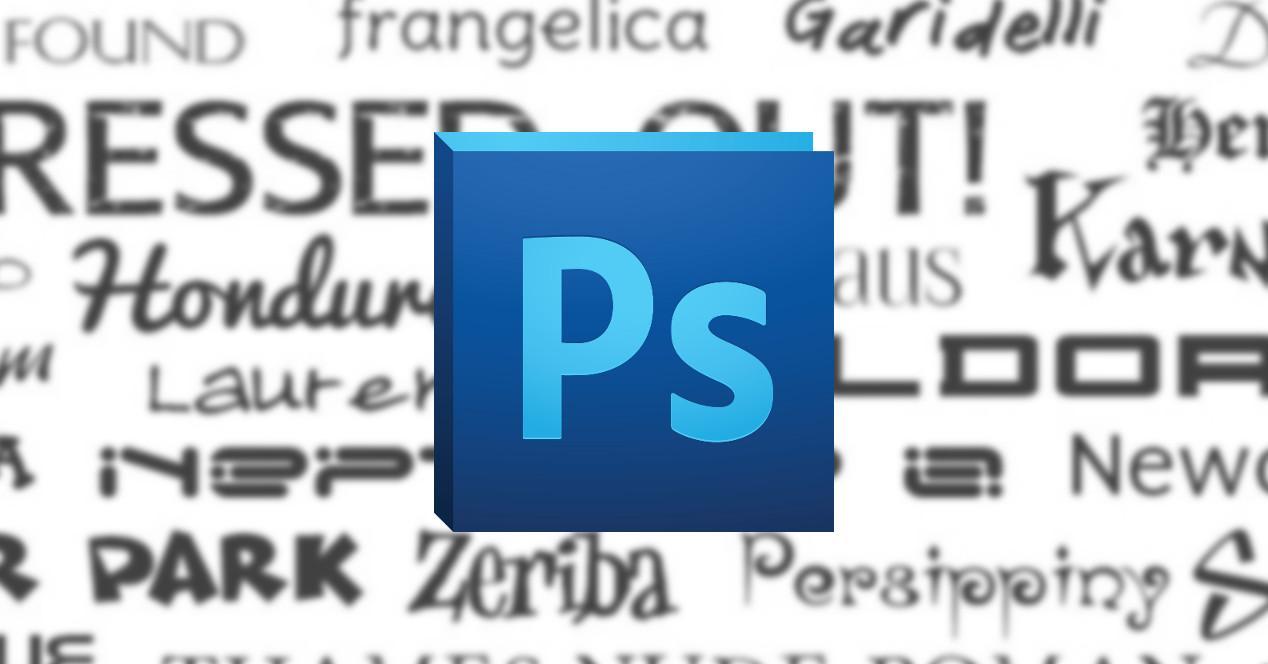 Photoshop Fuentes