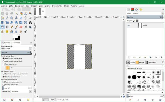 Separador barra tareas Windows 10