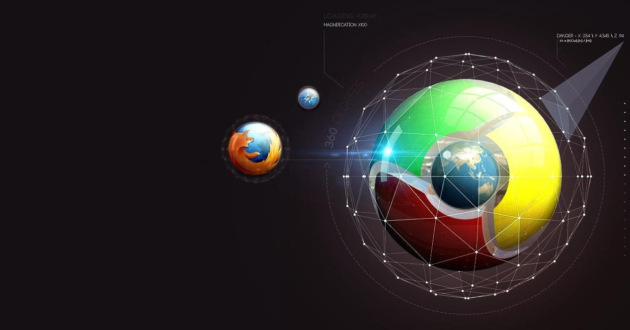 Universo Chrome Firefox