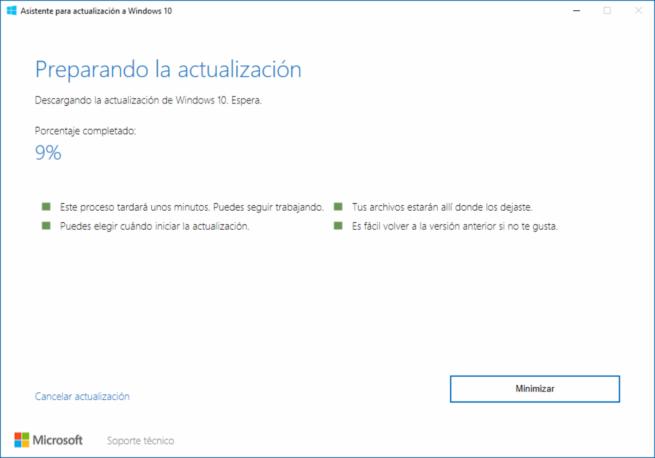 Windows 10 Spring Creators Update RTM - Asistente Actualización 3