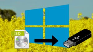 Cómo crear un USB de instalación de Windows 10 April 2018 Update