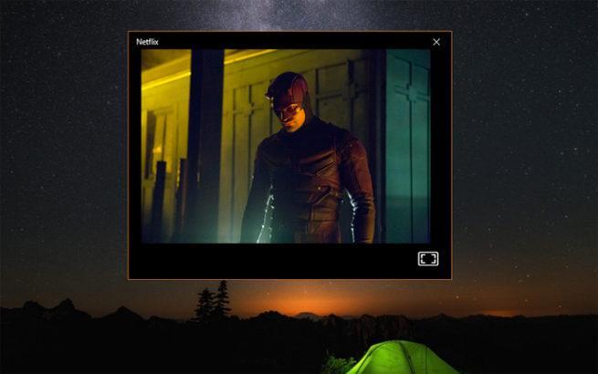 Netflix ventana