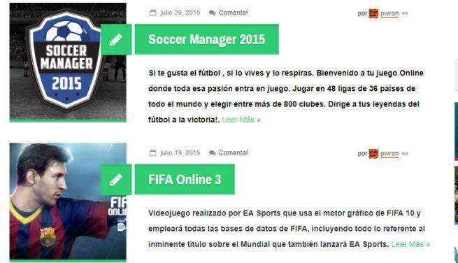juegos gratis de fútbol
