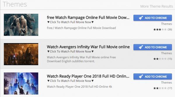 extensiones ver películas