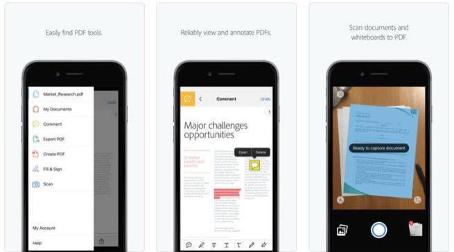 Adobe Acrobat PDF iOS