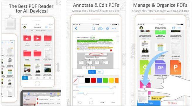 PDF Reader iOS