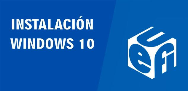 instalar windows 10 desde usb sin boot