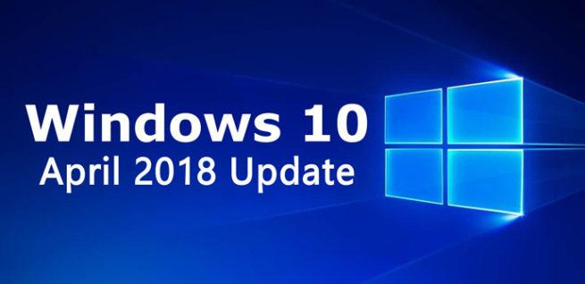 Windows 10 April