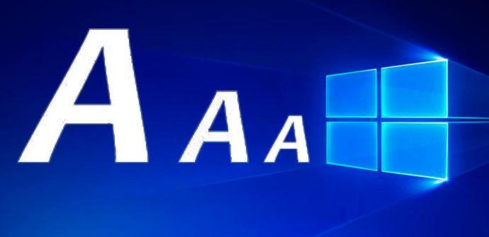 Ver noticia 'Cómo cambiar el tamaño de la letra en Windows 10'