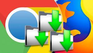Descarga archivos en diferentes carpetas desde Google Chrome o Firefox con Save In