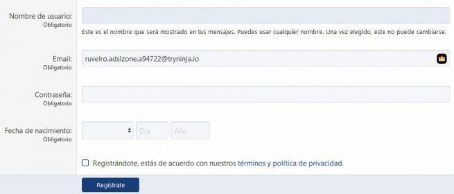 Burner Emails - Correo aleatorio AZ