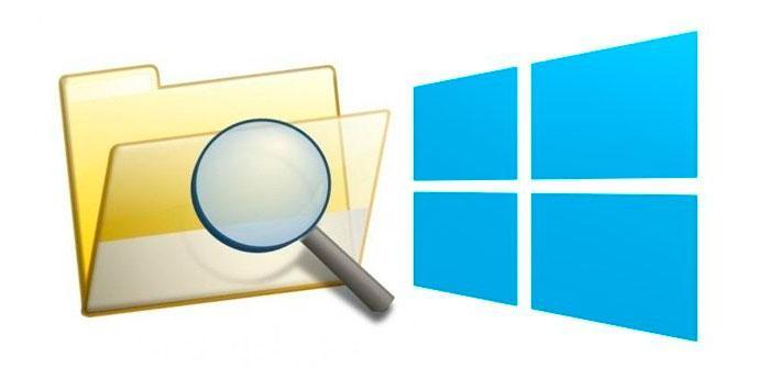 Buscar archivos Windows