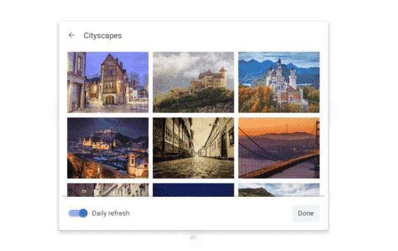 Fondo nueva pestaña Google Chrome