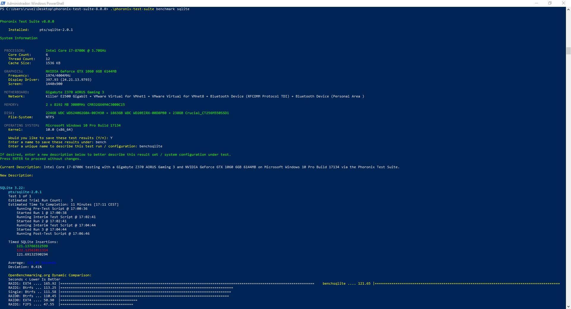 Phoronix Test Suite 8 0 ya tiene soporte completo para