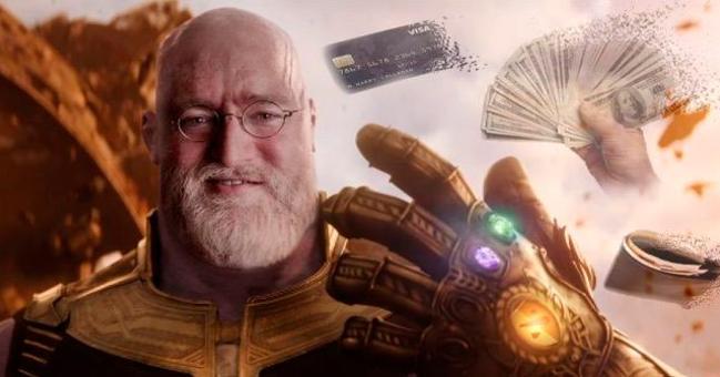 Rebajas de verano de Thanos