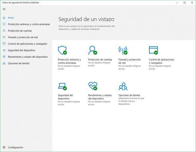 Windows Defender Windows 10 April 2018 Update