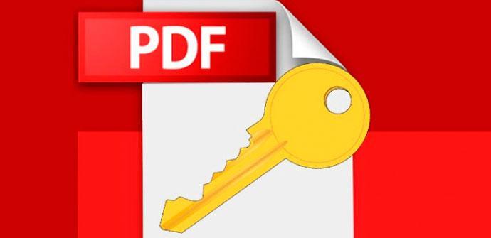 pdf contraseña