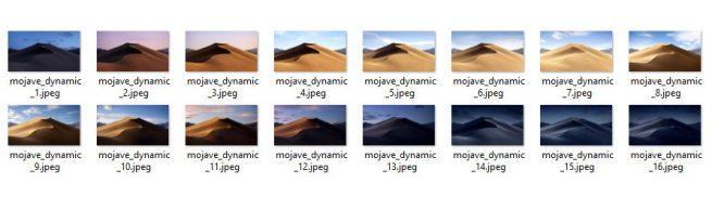 Fondos Dynamic Desktop Mojave