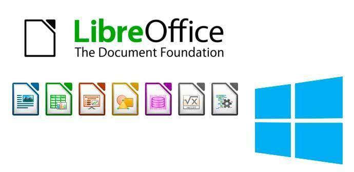LibreOffice Windows 10